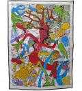 Elizabeth Garouste, Sirène, 2015, Technique mixte sur toile, 188 x 140 cm