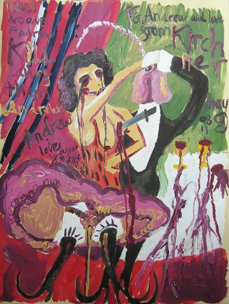 Picture - For Andrew with love from Kirchner