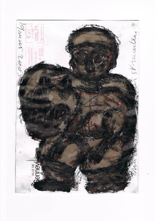 Picture - Correspondances secrètes. Livre d'artistes numérotés (n° 8) comprenant : une enveloppe originale de Michel Nedjar, photos sur papier de Mohror. Préface de Laurent Boudier